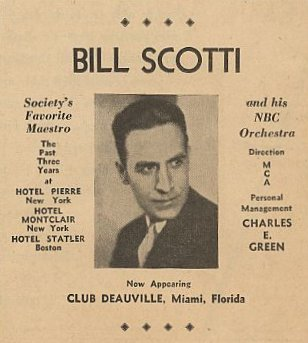 Bill Scotti And His Orchestra