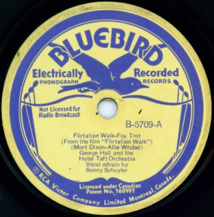 Vintage Bluebird Label