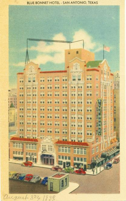 The Blue Bonnet Hotel - San Antonio, Texas