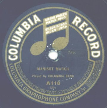 Vintage Columbia Label