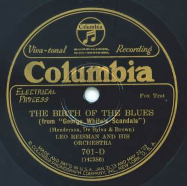 1926 Columbia Viva-Tonal label