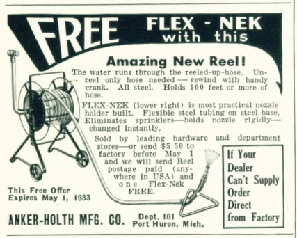 Free Flex Nek with Amazing New Hose Reel