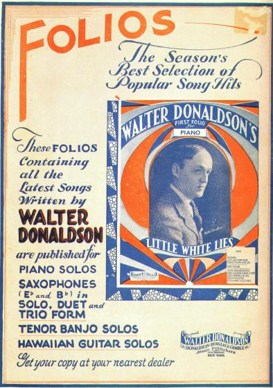 Folios - The Season's Best Selection of Popular Song Hits