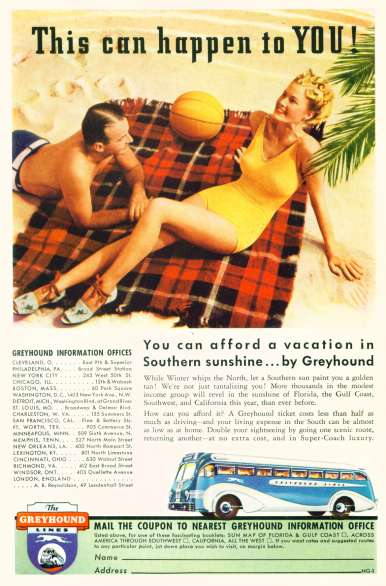 Greyhound Lines - Click Image For Larger View