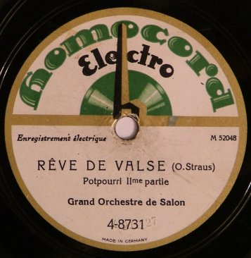 Homocord Label -  1926