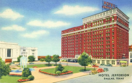 Hotel Jefferson - Dallas, Texas