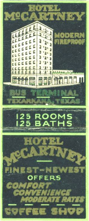 Hotel McCartney - Texarkana, Texas