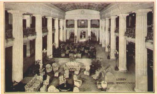 Lobby - Hotel Pennsylvania, New York