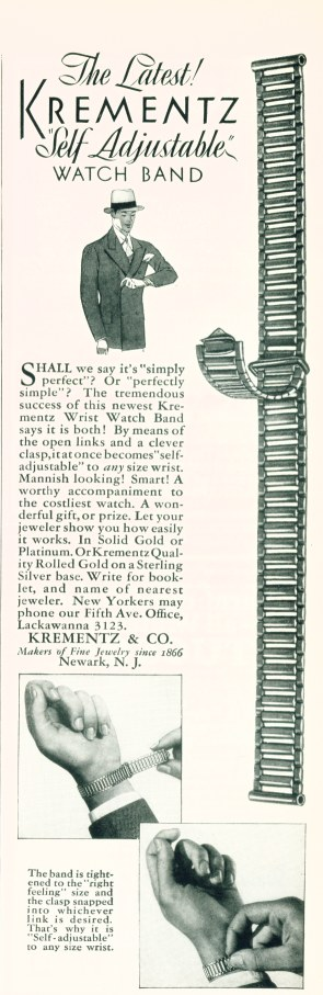 Krementz Self Adjustable Watch Band