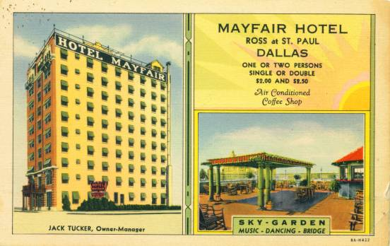The Mayfair Hotel - Ross at St. Paul - Dallas, Texas