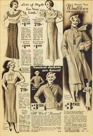Montgomery Ward & Co - 1934 Advertising Circular