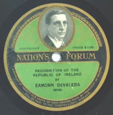 1920 Nation's Forum Label