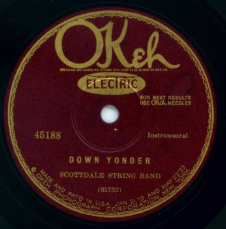 1927 Okeh label