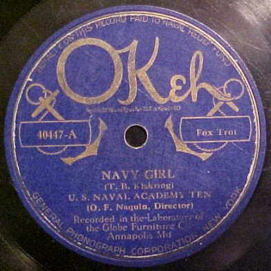 Okeh Special Issue Label - 1925