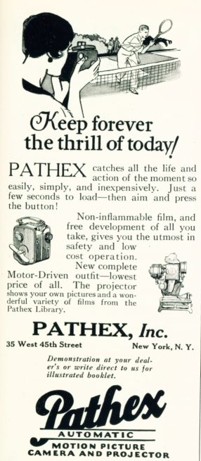 Pathex - Motion Picture Camera and Projector