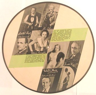 1932 Music In The Air RCA Victor Picture Record Side B