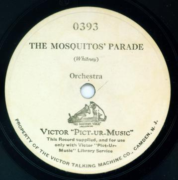 Victor Pict-Ur-Music disc - for silent film accompaniment