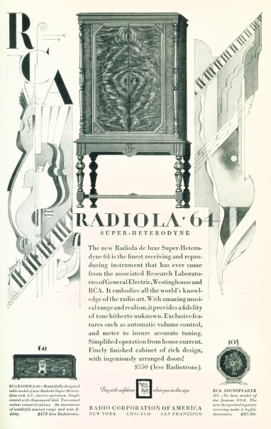 Radiola 64 - Click on image for larger view.