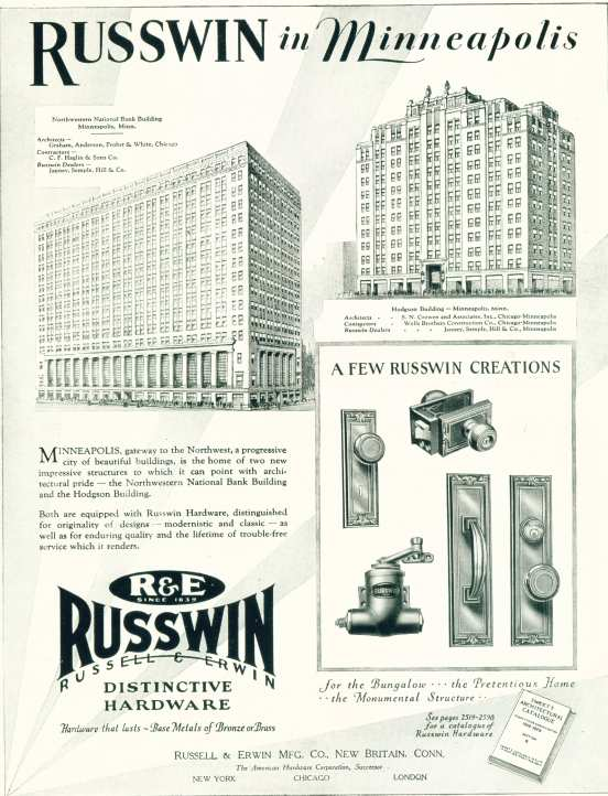 Ruswin Distinctive Hardware - Click On Image For Larger View