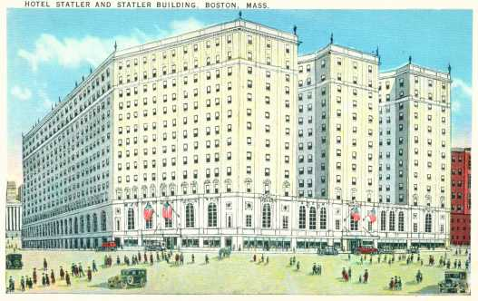 Hotel Statler, Boston, Mass