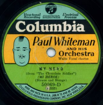 1928 Columbia Potato Head Label