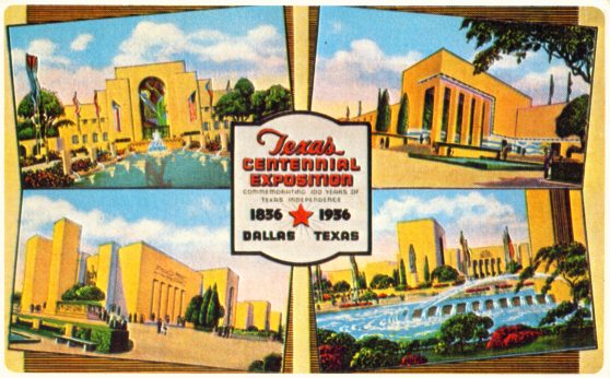 Texas Centennial Exposition - Dallas Texas