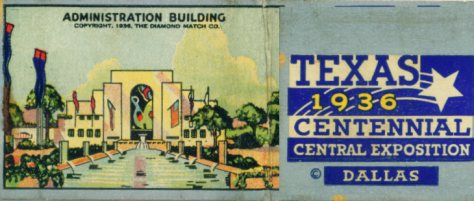 Texas Centennial Exposition - Dallas, Texas 1936