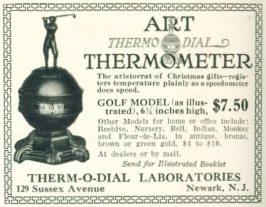 Art Thermo Dial Thermometer