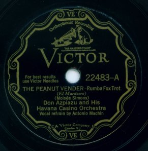Victor Scroll Label - 1930