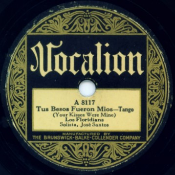 Vintage Vocalion Label