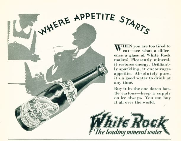 White Rock Mineral Water